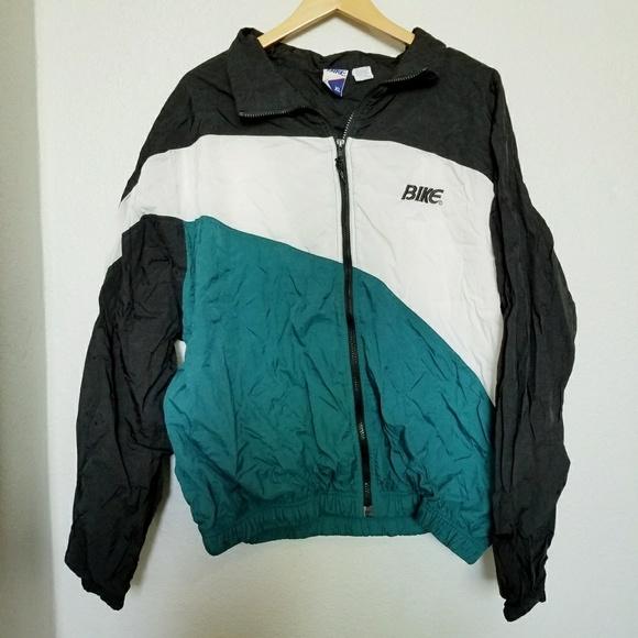 cf081d4c2 bike Jackets & Coats | Vintage Colorblock Windbreaker Jacket | Poshmark